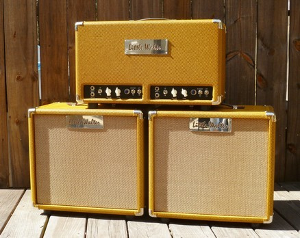 "image for Twin 50 with two 2x12"" cabinets."
