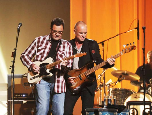 image for Vince Gill & Sting play CMT Crossroads.